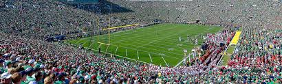 Notre Dame Stadium Detailed Seating Chart Notre Dame Stadium Tickets And Seating Chart