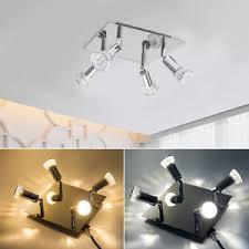 kitchen ceiling spot lighting. Image Is Loading Adjustable-Modern-4-Way-Square-Kitchen-LED-Ceiling- Kitchen Ceiling Spot Lighting O