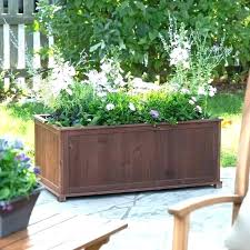 large wooden planters uk garden decoration extra rectangular outdoor plant