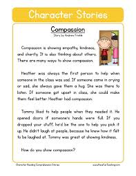 Compassion | English | Pinterest | English, Reading comprehension ...