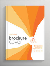 brochure and book cover creative vector