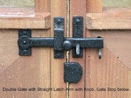 heavy duty gate latches stops and catches