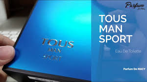 香水開箱UNBOXING-Tous Man Sport 開箱 | Parfums De MACY - YouTube