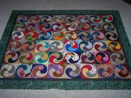 Spiral Quilt | My mom started this quilt as a scrap quilt, a… | Flickr &  Adamdwight.com