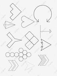 無料ダウンロードのための点線ライン や筆係 分割線 分離線png画像素材