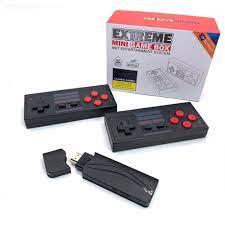 Máy chơi game 4 nút RS65 HDMI tay cầm không day tích hợp 628 game