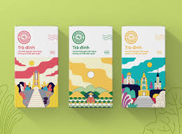 Tra Design Tra Dinh Tea On Packaging Of The World Creative Package