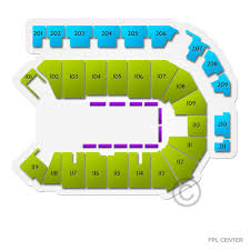 Ppl Seating Chart With Rows Disney On Ice Celebrate Memories Allentown Tickets 1 31