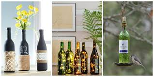 24 DIY Wine Bottle Crafts - Empty Wine Bottle Decoration Ideas