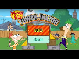 phineas and ferb tower inato gameplay cartoon games for kids hd you