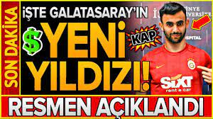 Rachid Ghezzal Galatasaray'a! Transfer... (RESMEN AÇIKLANDI) - YouTube