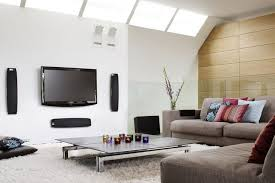 tv room furniture ideas. Small Tv Room Ideas With Low Sofa Brown And Soft Wool Carpet Furniture H