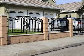 Awesome Wrought Iron Fence Collection Including Beautiful Designs
