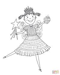Small Picture Pinkalicious with Pink Cupcakes coloring page Free Printable
