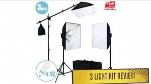 Photo Studio Lighting Kit Ebay Ebay 3 Light Kit Review Ls Pro Photo Studio