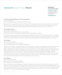 Graphic Design Resumes Examples Resume Examples Best Resume Graphic