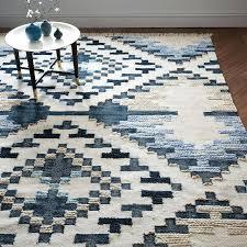 diamond pattern rug black and white