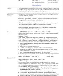 fashion resume example co fashion resume example