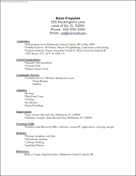 Office Template Resume Downloadable Simple Resume Template For Word