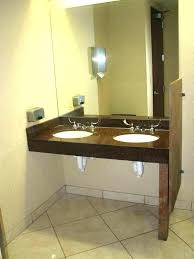 Ada Commercial Bathroom Minimalist Cool Design Ideas