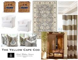 Yellow Living Room Design The Yellow Cape Cod Custom Designs