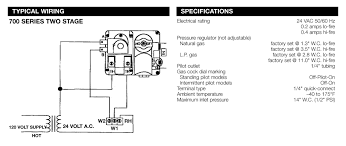 700 series 2 stage wiring and specifications