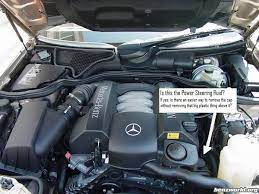 And i wouldn't dare use synthetics anyplace that wasn't mercedes has spent extensive amounts of resources developing special fluids for their vehicles. Power Steering Fluid Mercedes Benz Forum