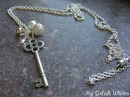 now you ve got a cute key necklace and are a master of jump rings