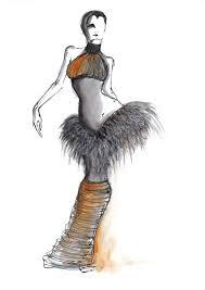 Sketching Clothing 55 Inspiring Fashion Sketches Illustrations