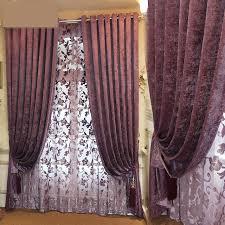 purple bedroom curtains. custom curtain the color purple velvet plain simple modern living room bedroom curtains solid thick
