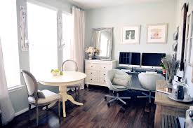 Office furniture for women Gorgeous Gray Home Office With Vintage Furniture Designtrends 17 Gray Home Office Furniture Designs Ideas Plans Design
