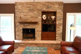 tv stands with fireplace built in cool stone veneer fireplace with built in stand cabinet unit tv stands with fireplace built