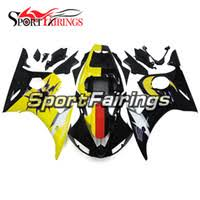 cheap r6 motorcycle fairing kit yellow free shipping r6