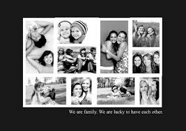 ... black and white layout collage template ...