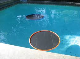 finally we just put the lily pad in the pool just keep cranking them out until you have as many as you think you need for the pool