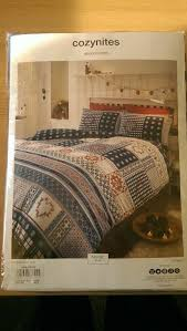 brand new king size duvet cover set and towel