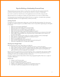 9 College Scholarship Essay Examples Graphic Resume
