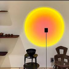 <b>Floor Lamps Rainbow Sunsets</b> Projection Stand Lamp Background ...