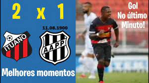Ituano 2 x 1 Ponte Preta   Melhores momentos  Campeonato Paulista 2021 -  YouTube