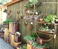 wrought iron wall decor garden new brick patio wall designs garden decor ideas design outside house