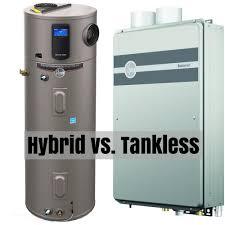 Hot Waterheaters Hybrid Hot Water Heater Versus Tankless
