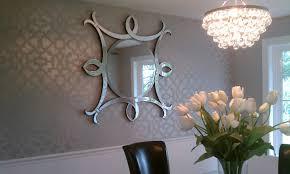dining room stencil ideas
