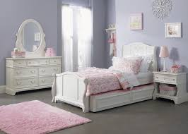 Providence Bedroom Furniture Arielle Youth Bedroom Traditional Twin Size Sleigh Bed With