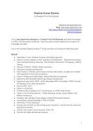 15 16 Senior Ux Designer Resume 626reserve Com