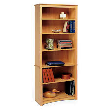 Bookshelves Design Bookcase Shelf Supports With Nice Natural Graded Rack Wooden