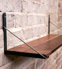 wood and metal wall shelves sy wall shelves brown varnished wooden floating shelf best ideas about wood and metal wall shelves