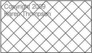 Crosshatch | Karen Thompson | Digitized Quilting Designs & Digital Quilting Design Crosshatch by Karen Thompson. Adamdwight.com