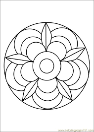 Free Printable Mandala Coloring Pages Free Printable Coloring Page