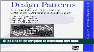 Design Patterns Elements Of Reusable Object Oriented Software Pdf Mesmerizing Download Books Design Patterns Elements Of Reusable ObjectOriented