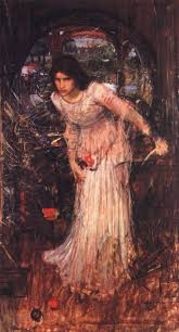 on the names of the following artists to see their interpretations of the lady donato giancola william mau egley william holman hunt arthur hughes